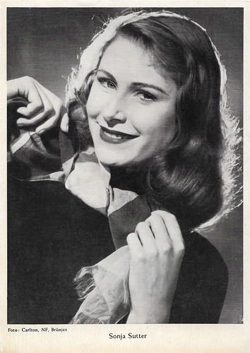 Sonja Sutter in Meines Vaters Pferde, 1. Teil - Lena und Nicoline (1954)