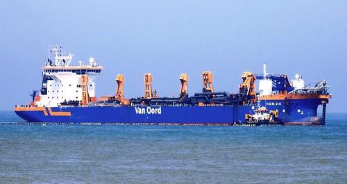 HAM 318 off Bacton Norfolk