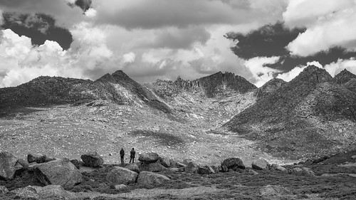 Two Figures at Rabbit-ears Pass