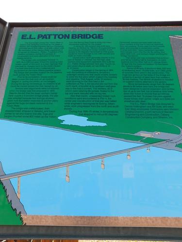 E. L. Patton Bridge Sign