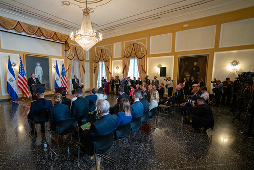 Secretary Pompeo Participates on Joint Press Availability With President Bukele