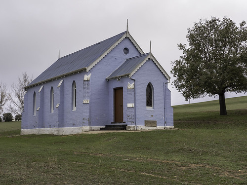 Historic Cowra Road Methodist Church, just outside Grenfell NSW - see below