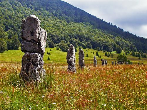 The monument to fallen partisans