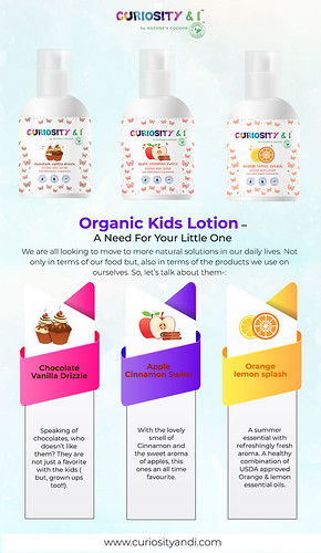 Organic Kids Lotion – A Need For Your Little One