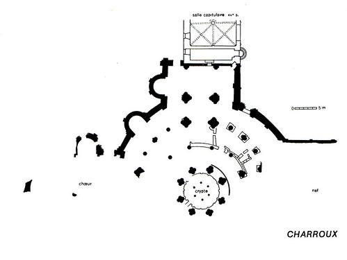 DOC119/14929 - Plan of the Charroux Abbey