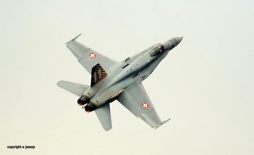 mcdonnell douglas J-5011 swiss airforce f/a 18c 48 Hornet  J78A0122