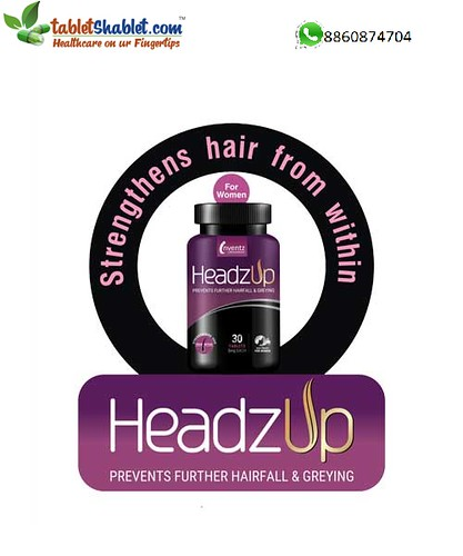 Shop HeadzUp Women 30 Tablet & Save 30% |TabletShablet