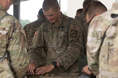 11th Regiment, Advanced Camp, Weapons Qualification.