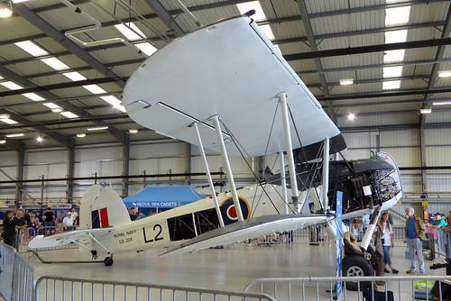 LS326 / L2 Fairey Swordfish II Royal Navy RNAS Yeovilton 13Jul19