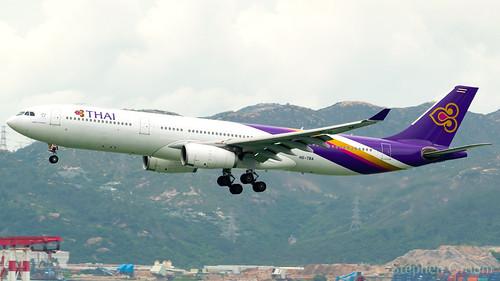 Thai Airways Airbus A330-343 HS-TBA