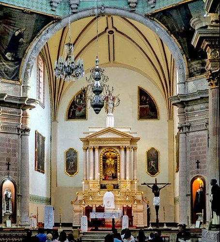 Templo de San Diego de Alcántara em Guanajuato - México