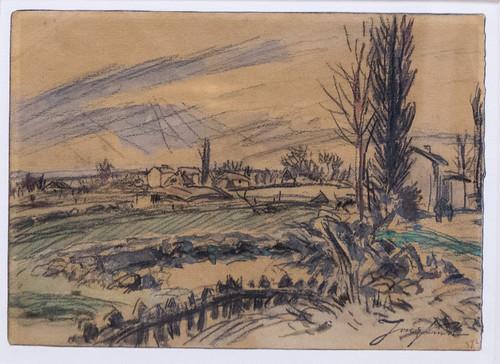 Exposition Johan Barthold Jongkind (1819-1891) au musée Hébert (La Tronche, France)
