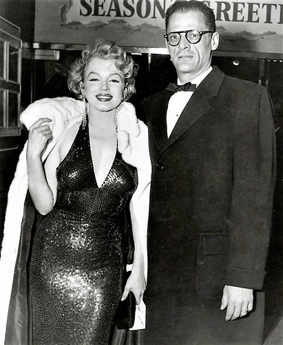 Marilyn Monroe y Arthur Miller   - Grosby Group
