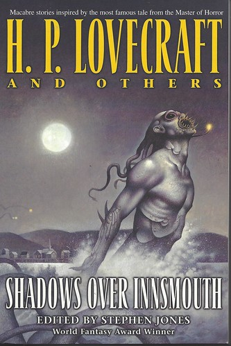 Shadows Over Innsmouth - edited by Stephen Jones - cover artist John Jude