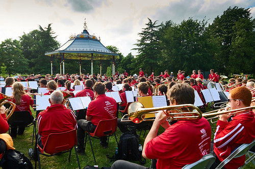 Bandstand performance
