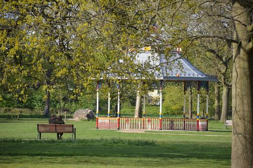 Restored bandstand