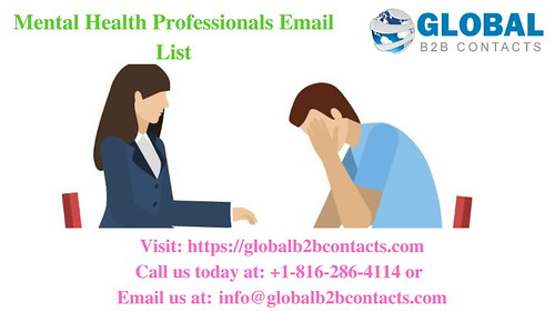 Mental Health Professionals Email List
