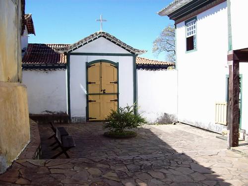 Local da capela demolida na Casa da Chica da Silva - Diamantina (MG)