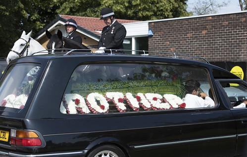 Funeral of PC Shazad Saddique