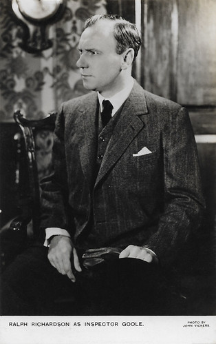 Ralph Richardson in An Inspector Calls (1946)