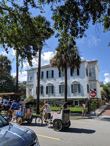 old charleston and new means of conveyance
