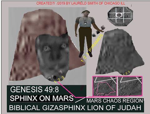 MARS AERIAL VIEWED CHAOS REGIONS  HAS GIZA SPHINX & ETHIOPIAN CROSS SHAPED BUILDING11 IN LAIBELA-YFJ54343YFJ5100