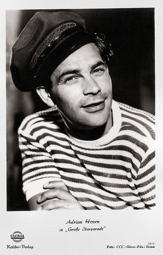 Adrian Hoven in Die große Starparade (1954)