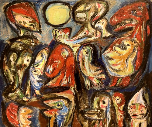 IMG_1504 Asger Jorn 1914-1973 Danemark  Saint John's Eve II 1952 Aarhus Kunstmuseum Denmark