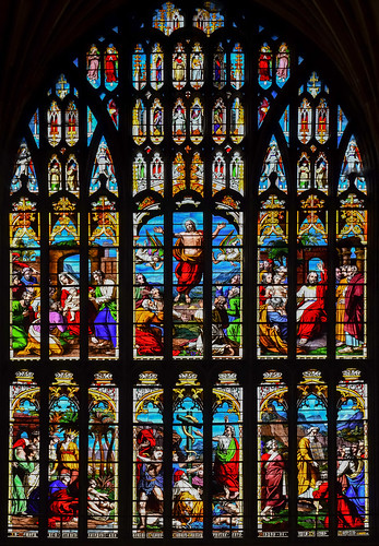 Norwich Cathedral, West window