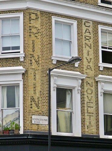 Ghost Sign, London, UK