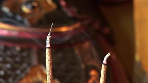 Vietnam - Hue - Tu Hieu Pagode - Incense Sticks - 52