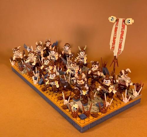 Brayherd Faction Regular Unit: Fauncor Tribe