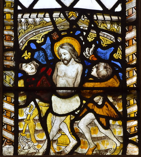 Christ is mocked and beaten