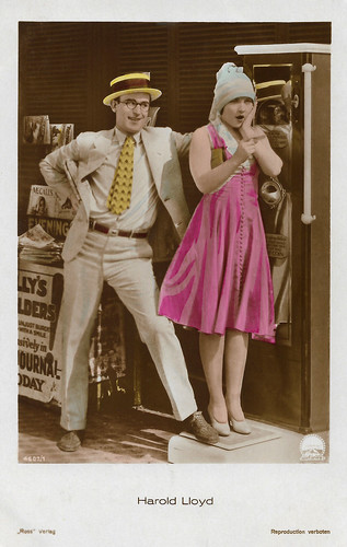 Harold Lloyd and Ann Christy in Speedy (1928)