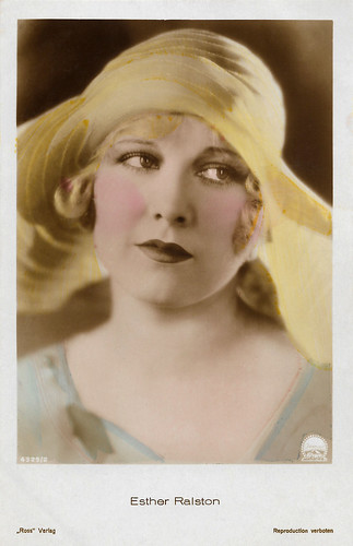 Esther Ralston in The Wheel of Life (1929)
