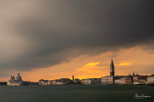 Spectacular, stormy skies above Venice