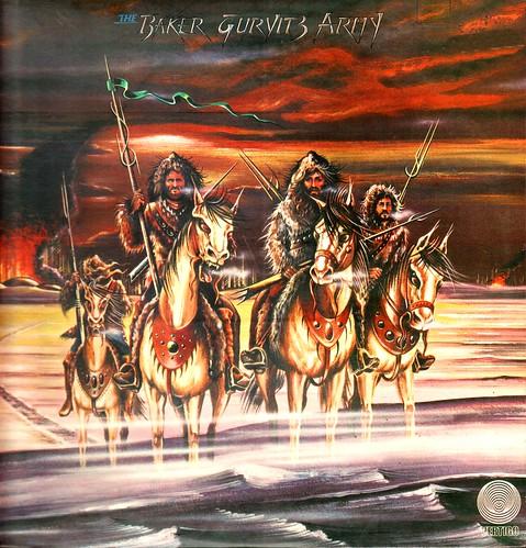 1 - Baker Gurvitz Army - Same - First LP - UK - 1975