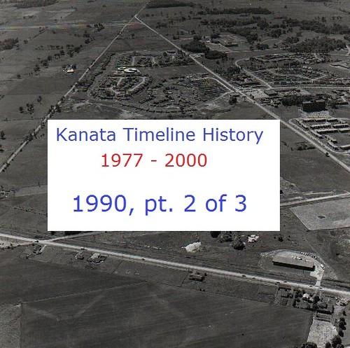 Kanata Timeline History 1990 (part 2 of 3)