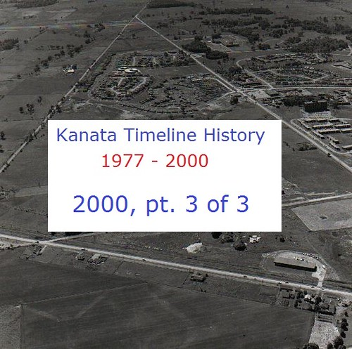 Kanata Timeline History 2000 (part 3 of 3)