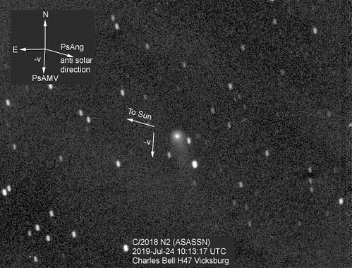 C/2018 N2 (ASASSN) 2019-Jul-24 10:13:17 UTC