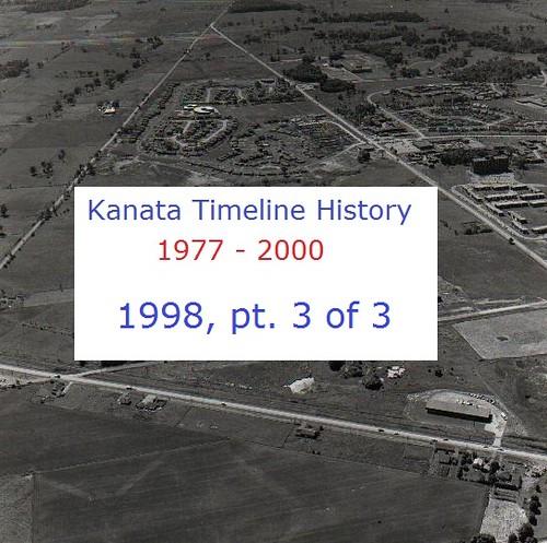 Kanata Timeline History 1998 (part 3 of 3)