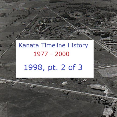 Kanata Timeline History 1998 (part 2 of 3)