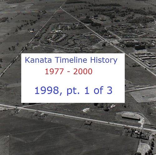 Kanata Timeline History 1998 (part 1 of 3)