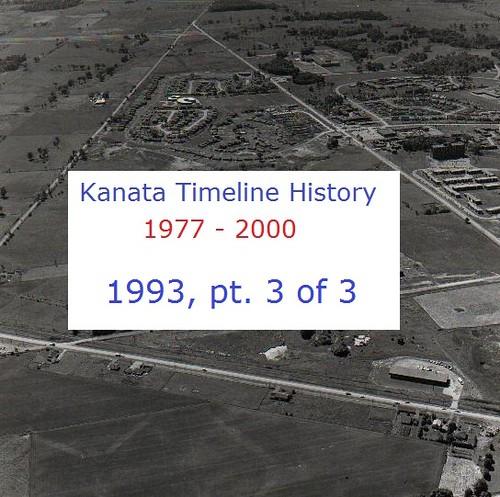 Kanata Timeline History 1993 (part 3 of 3)
