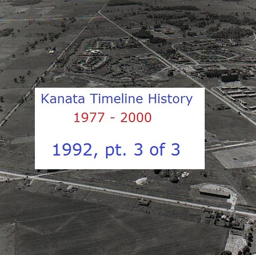 Kanata Timeline History 1992 (part 3 of 3)