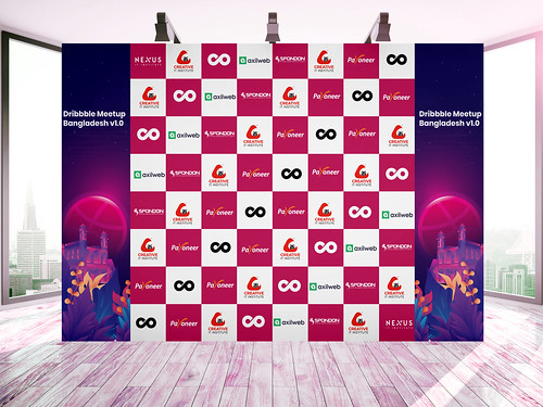I Will Event Backdrop, Banner, Standee, Roll Up Banner, X Stand