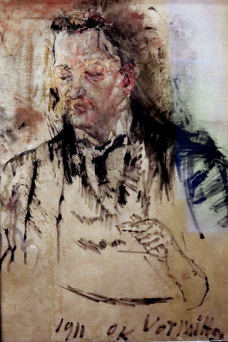 IMG_2091L Oskar Kokoschka 1886-1980 Carl Leo Schmidt 1911 Madrid  Musée Thyssen Bornemisza