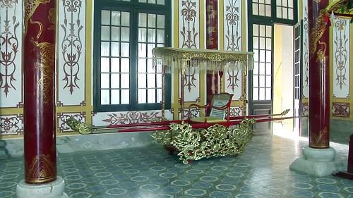 Vietnam - Hue - Citadel Of Hue - Exhibition Royal Antiquities Of The Nguyen Dynasty - Royal Palanquin - 138