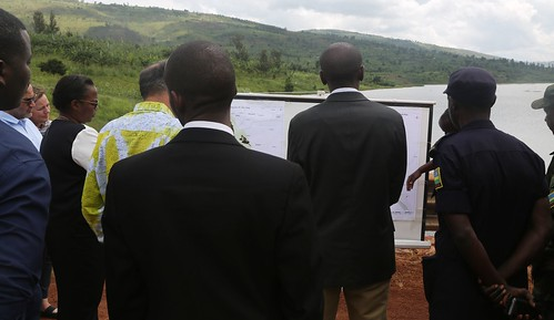 World Bank Vice President for Africa Hafez Ghanem visits Rwamagana farmers to witness SAIP impact to beneficiaries