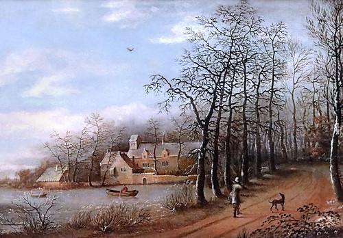 IMG_1328 Daniel van Heil 1604-1664 Bruxelles Winterlandschaft mit einem Teich  Paysage d'hiver avec un étang Winter landscape with a pond